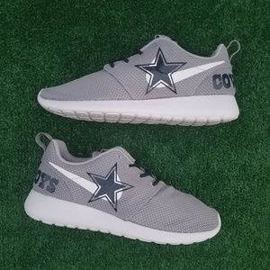 size 40 87f34 c3734 ... italy customized dallas cowboys nike roshe sneakers 0748e 2ab0e
